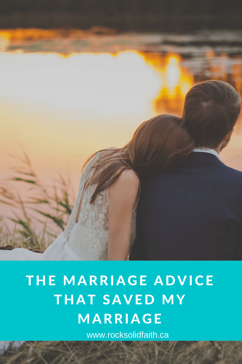 The Marriage Advice That Saved My Marriage(1)