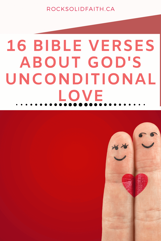 bible verses about gods unconditional love