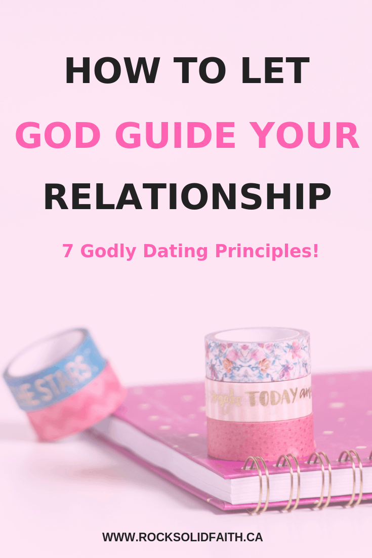 How to let God guide your relationship. Find 7 Godly dating principles. Christian dating advice, christian dating boundaries#christiandating #godlyman #singleness