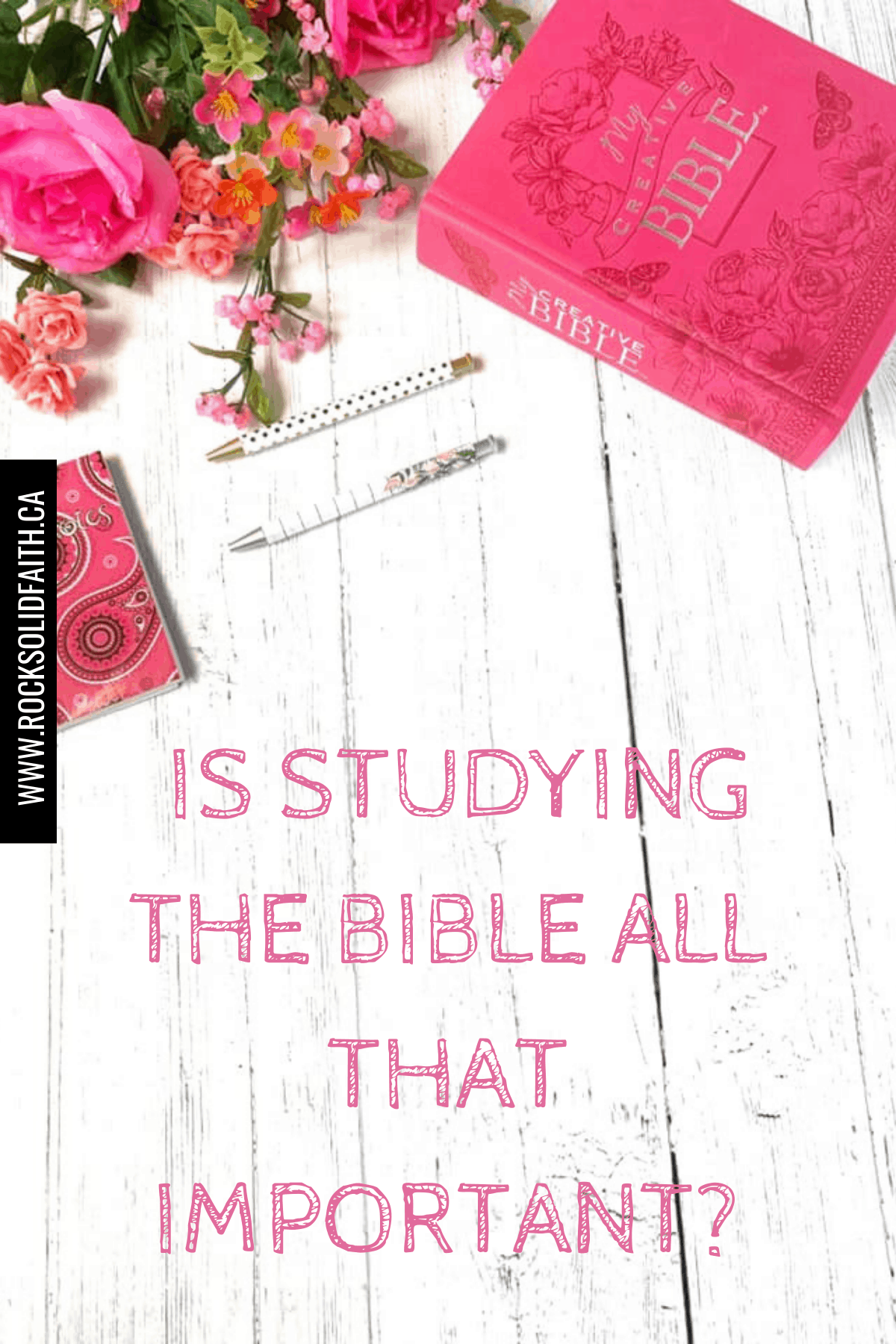 importance of studying the Bible