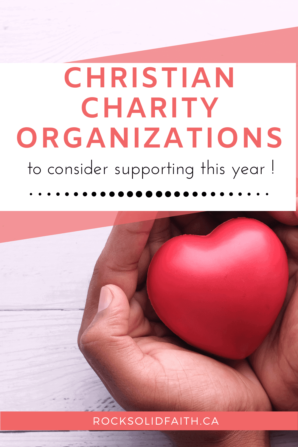 christian charity organizations list, international charity organizations