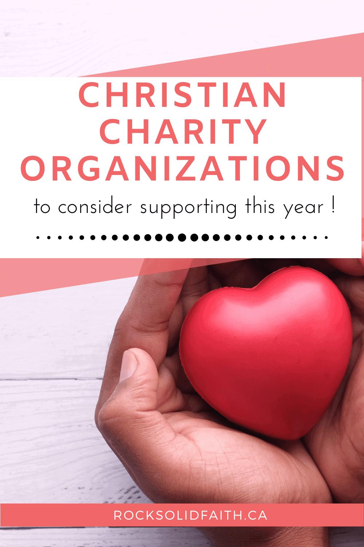 christian charity organizations list, international charity organizations
