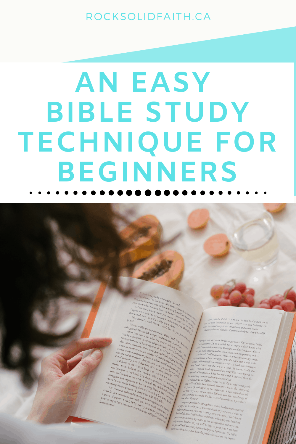 methods for studying the Bible