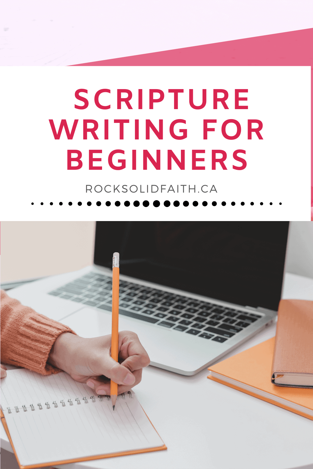 scripture writing for beginners