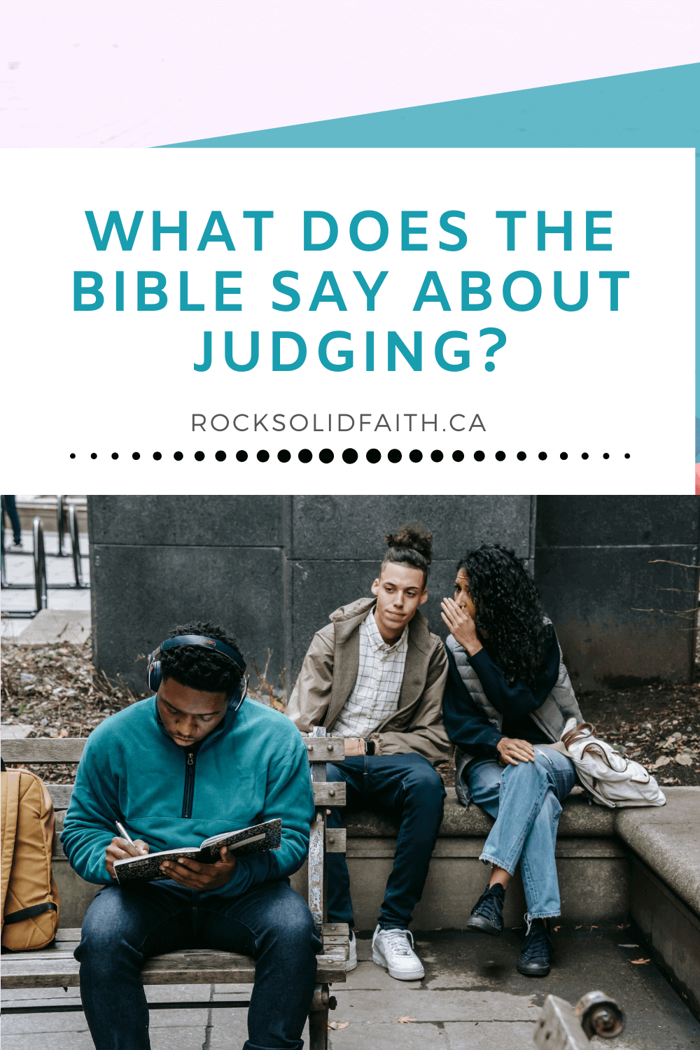 bible verses about judging