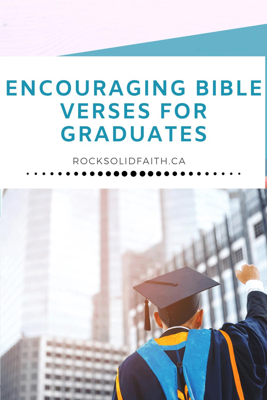 bible verses for graduates