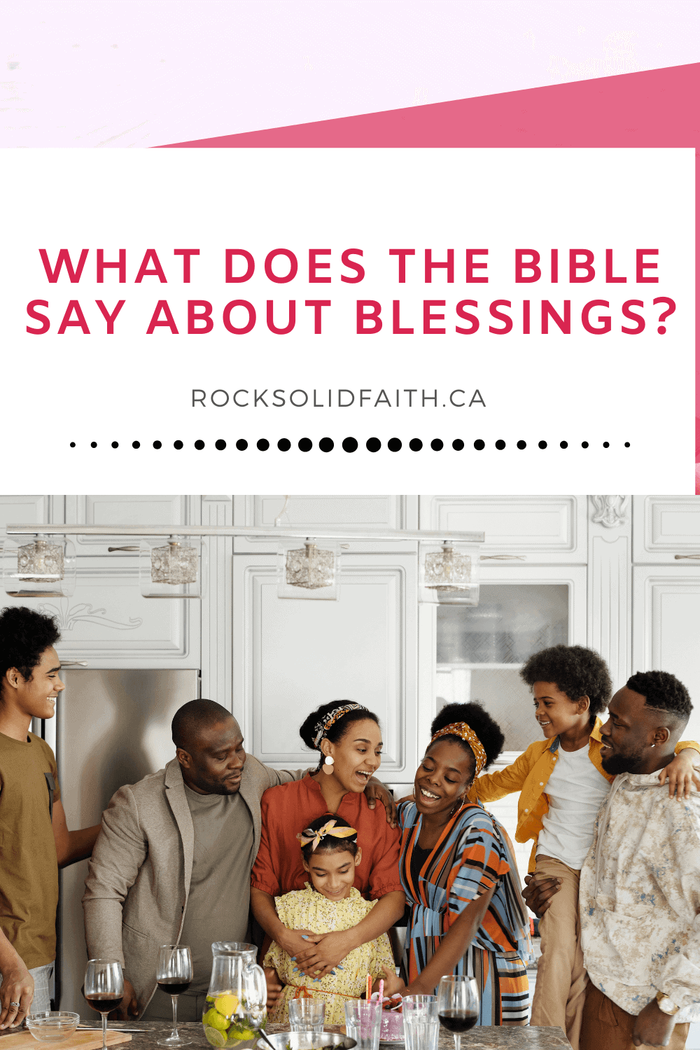 what does the bible say about blessings